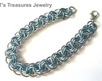 Viperbasket Chainmaille Bracelet