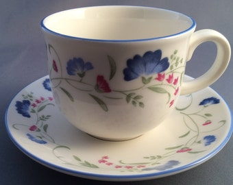 Royal Doulton Windermere Expressions Tea Cup and Saucer