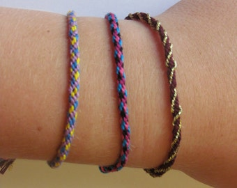 Kumihimo Braided Bracelet (8 string)