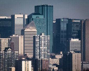 Edmonton - Skyline Lines