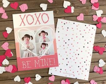 Valentine's Day - Pink and White XOXO