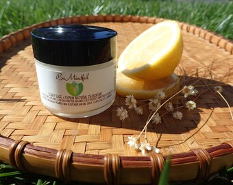 Natural Deodorant- Clary Sage & Lemon