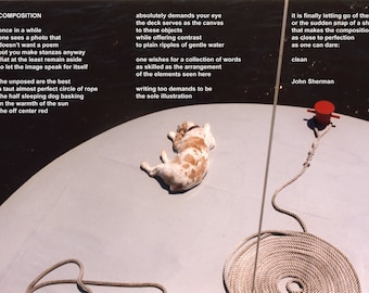 Poetry & photography poster: Composition