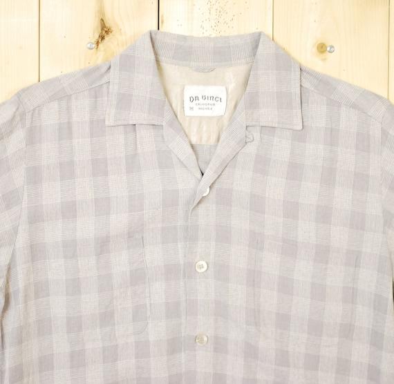 1960s DaVinci Oxford Shirt Sz M Vintage Retro Cruiser 7XT1e