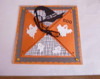 "201857 card folded ""Halloween"""