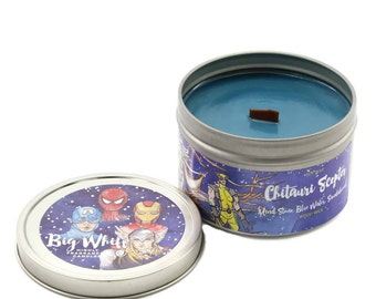 Chitauri Scepter -Marvel Inspired Candle, Avengers, Loki , Hero Inspired, Bookish Gift, Gift For Geek, Gift For Nerd, 100% Soy Wax