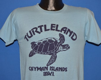 80s Turtleland Cayman Islands Sea Turtle t-shirt Small