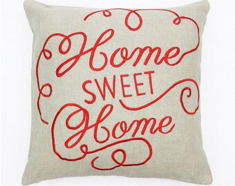 Home Sweet Home | Text Cushion Covers | Decorative Pillow Covers | Housewarming Gifts