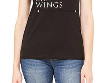 Gives Me Wings Tee | Equestrian T-Shirt | Horse T-Shirt | Slim Fit Tee