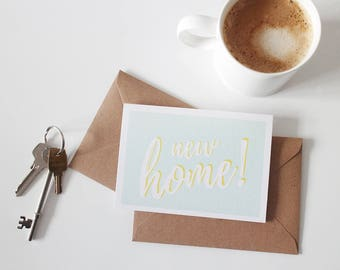New Home Card | Housewarming | Moving House
