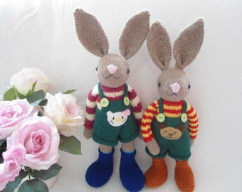 Amigurumi rabbit crochet pattern