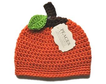 Newborn Pumpkin Hat - Holiday Baby Hat