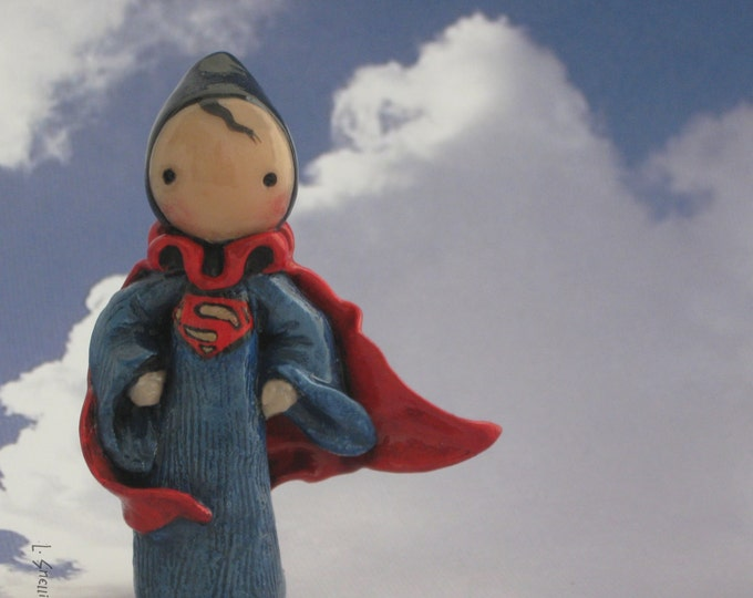 Superman Poppet Limited Edition  Number 13 of 25