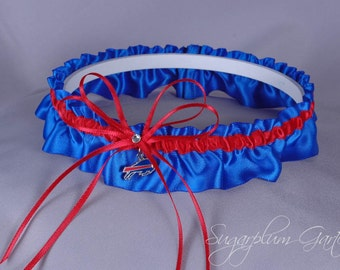 Buffalo Bills Wedding Garter
