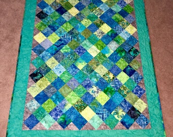 Small SeaGlass Quilt