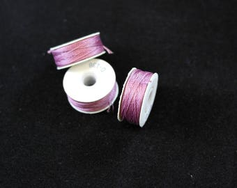 3-pack Coats Ultra Dee Pre-wound Bobbins Malaga 2328 Size D138 M Light Purple