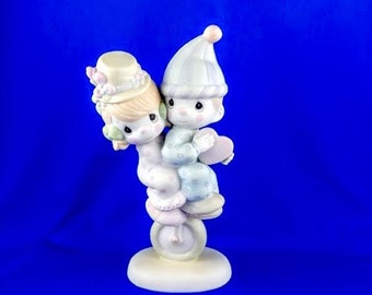 Lord Help Us Keep Our Act Together Precious Moments Figurine