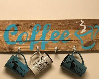 Coffee Cup Holder Decor