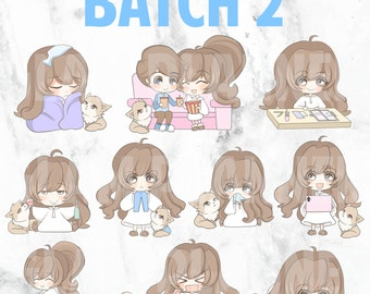 Batch 2 - Bippity and Boo 01 (Kawaii Planner Stickers)