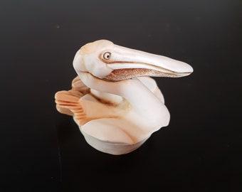 Miniature collectible pelican