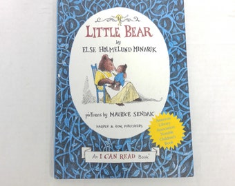 1957 - Harper & Row / An I Can Read Book - Hardcover - Little Bear - By Else Holmelund Minarik - Pictures by Maurice Sendak  Like new