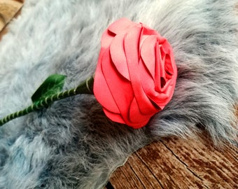 Red Rose leather