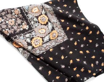 Crep Vintage scarf-hand sewn