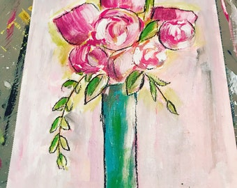 Print Spring Flowers 8 1/2 by 11