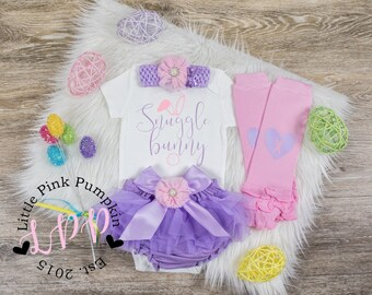 First Easter Outfit Girl 1st Easter Outfit Baby Girl Easter Outfit Newborn Easter My First Easter Girl Newborn Easter Outfit Snuggle Bunny