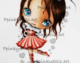 INSTANT DOWNLOAD digitale Digi stempels... door Chrishanthi van kunst Circus meisje '