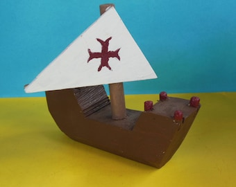 Wooden Toy Carrack