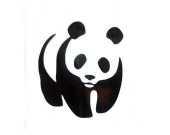 Panda decal Panda sticker Panda Bear decal Vinyl Decal Car Sticker Panda Sticker Panda Wall Decal Laptop Decal Wall Sticker