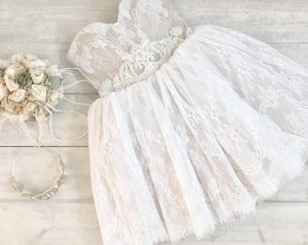 Short Wedding Dress, Short Lace Wedding Dress, Beach Wedding Dress, Second Bridal Dress, unique wedding dress, wedding gown, bridal dress