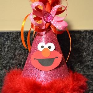 Elmo Birthday Party Hat Girl Boy
