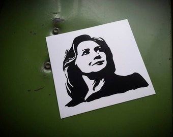 "Hillary Clinton 3""x 3"" Vinyl Sticker HRC Still With Her!"