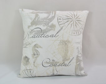 Gray Throw Pillow... Decorative Pillow... Couch Pillow... Pillow Cover
