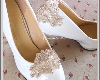 Rhinestone Bridal shoes clips rhinestone wedding shoes clips Rhinestone shoes clips