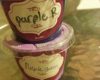 TWO Slimes Purple rain and purple gun slime fun gifts Unicorn