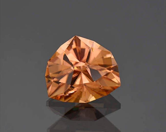 Superb Precision Cut Peach Zircon Gemstone from Tanzania 6.66 cts.