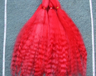 1 oz washed, combed, Mohair locks