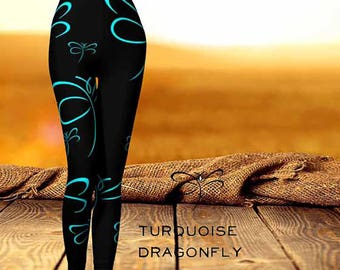 Turquoise Dragonfly'