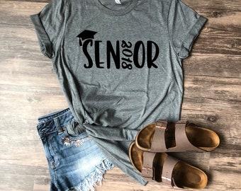 Senior Shirt | Senior | Graduation | Graduate | 2018 | 2018 Graduate | Senior 2018 | Graduation Gift