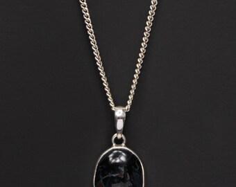 Pietersite necklace for men - pietersite pendant - pietersite jewelry - pietersite gemstone - men's jewelry - men's necklaces silver jewelry