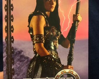 90s Vintage Xena Warrior Princess Hardcover Journal - 1997 - Never Used