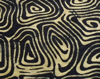 BATIKS, BATIKS, BATIKS, Island batiks, Black and Tan Turtle shells