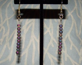 Druze Dangle Earrings