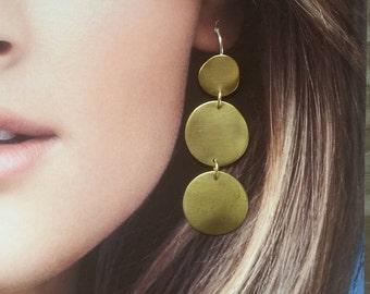 Handmade Pebble Earrings