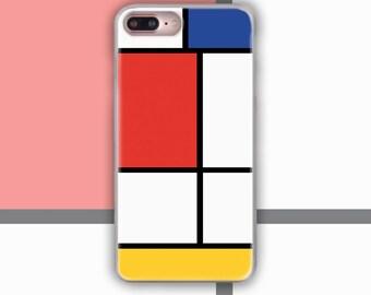 mondrian, iPhone 8 Plus Case, iPhone 7 Plus case, piet mondrian, iPhone 8 Case, case iphone 7, iPhone X Case, iPhone 7 case, us315