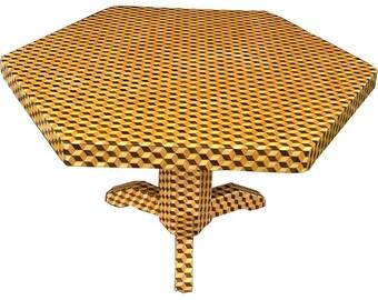 Tumbling grand bloc Table