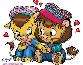 Louisa and Leoncio (DIGI STAMP)